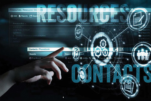 Resource & Contact Management