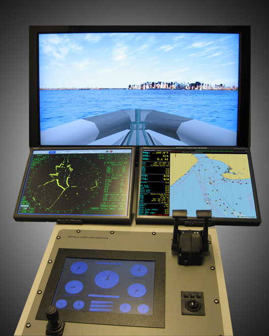 Maritime Steering Console Training